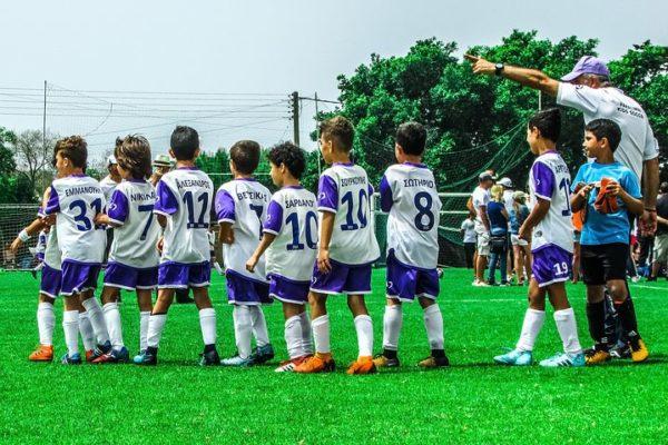 Children sports team
